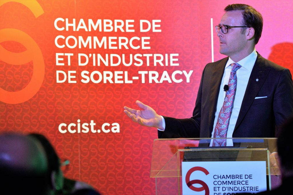 Des conf rences courues des entrepreneurs et d 39 actualit for Chambre de commerce sorel tracy