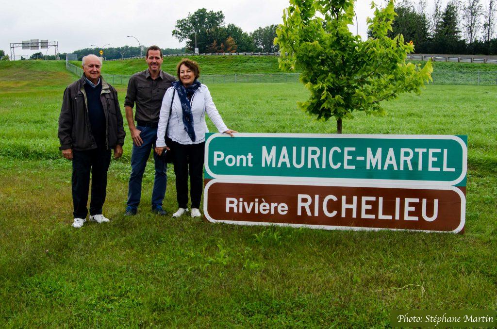 Panneau Maurice-Martel