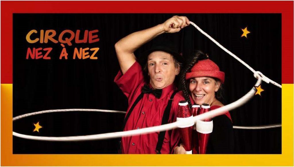 Super duo Circassien et Clownesque - deuxieme version