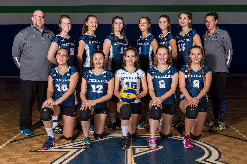 equipe_volleyball feminin 2017