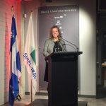 Annie Goudreault, directrice de la direction de la Montérégie du Ministère de la Culture et des Communications et représentante du gouvernement du Québec