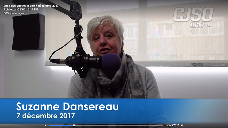 Suzanne Dansereau dec 2017