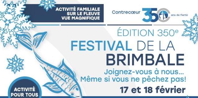 festival de la brimbale 2018 bannière Contrecoeur