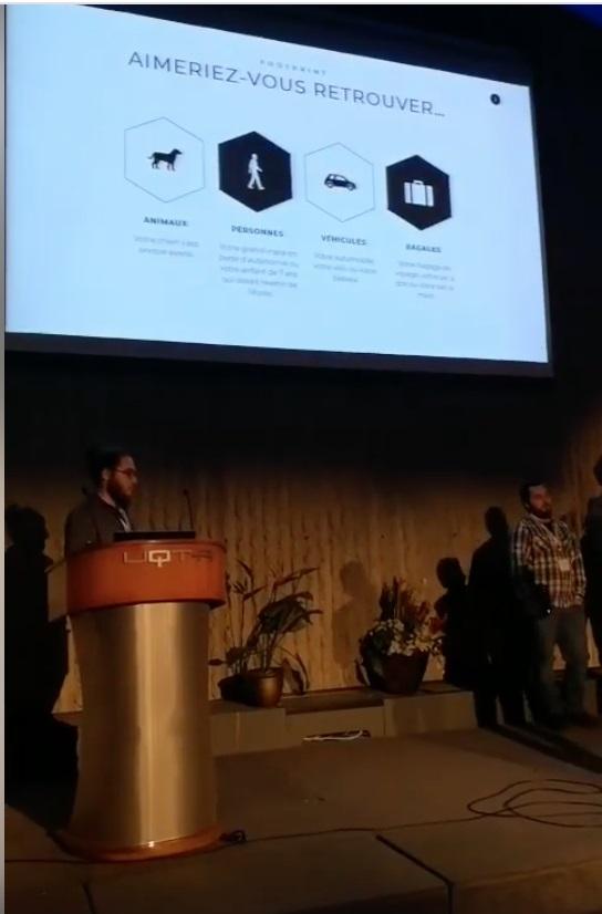 Startup Weekend - Footprint GPS - Pitch cégep sorel-tracy