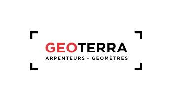 logo geoterra arpenteurs géomètres
