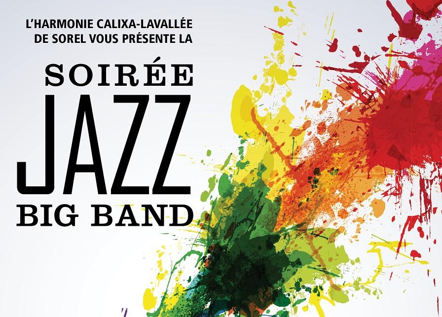 soirée jazz big band harmonie calixa lavallée 2018