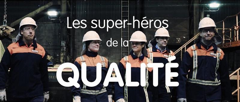 Les super-héros de la qualité - Arcelor Mittal