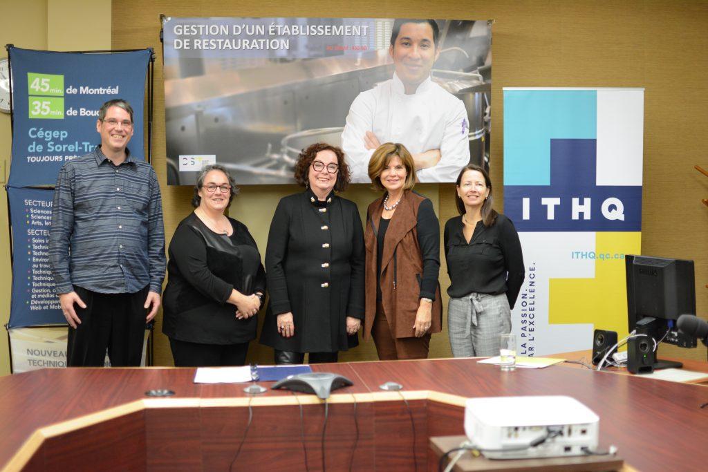ITHQ et cégep de Sorel-Tracy programe gestion restauration