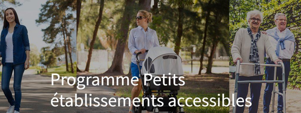 petits établissement accessibles crédit site MRC Pierre de saurel