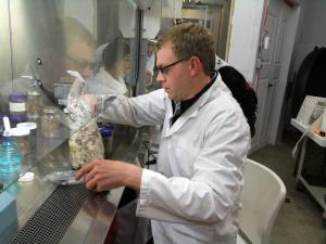 photo 2 david dussault dans son labo