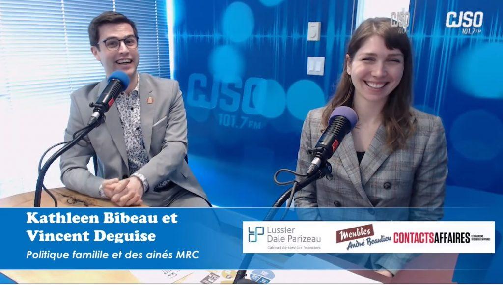Kathleen Bibeau et Vincent Deguise