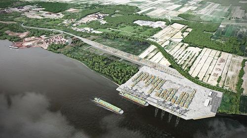 Projet d'expansion du Port de Montréal à Contrecoeur
