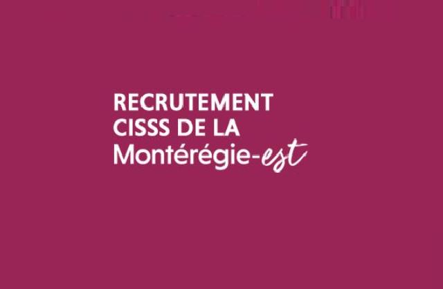 Recrutement CISSSME